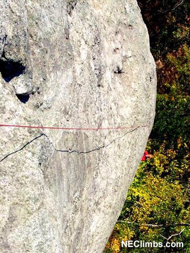 Brad White coming around the corner on a beautiful Fall day