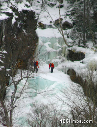 Sure the ice season is winding down, but there's still some reasonable ice to be found - even on April 9!