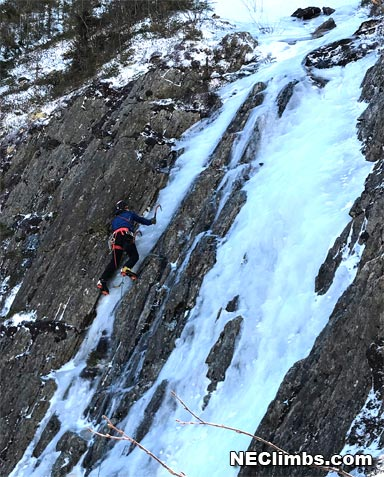 I don't know what other folks will do, but this was my last ice climb of the 2018/2019 season.