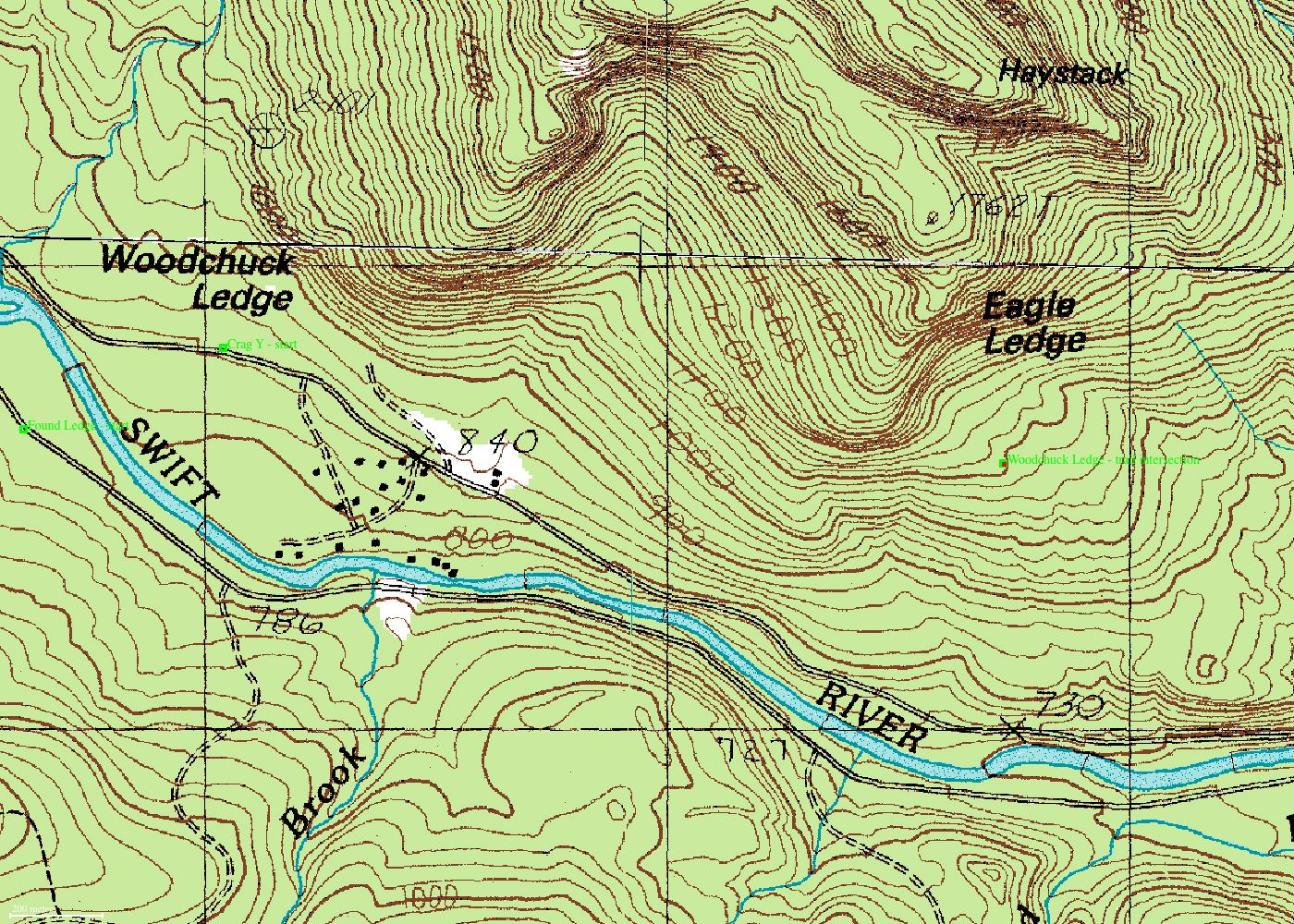 Topographic Map Of New England.Neclimbs The White Mountain Report Current Climbing News For New